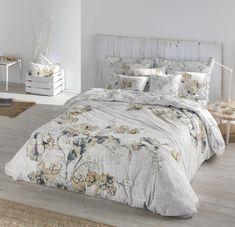 Precioso juego de funda nórdica realizado en algodón percal de 200 hilos, y diseño floral de Pielsa, para camas de 150 y 180 cm. Sorrento, Comforters, Blanket, Bed, Furniture, Home Decor, Environment, Earth Tones, Duvet Covers