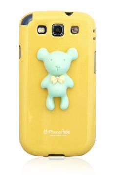 Alice Pastel Special Honey Bear Case for Samsung Galaxy S III - Yellow $15.99 www.myphonecase.com #pastelcase, #pastel case, #galaxys3, #cutecase, #yellowcase