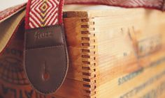 Handmade Peruvian Guitar Straps. Limited production and will last a lifetime.