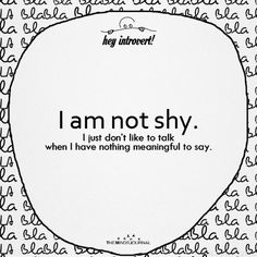 I Am Not Shy - https://themindsjournal.com/i-am-not-shy/