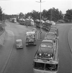 Trollhättan, Sweden back in the day....#saab