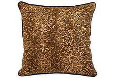 Custom Leopard Pillow on OneKingsLane.com