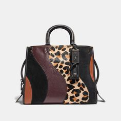 COACH Rogue With Leopard Patchwork - Women s Purses Coach Rogue 7c102298f759f
