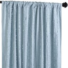 """Frills Curtain - Celestial Blue Our room? 84"""" for $50"""