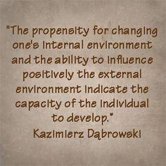 Dabrowski Quote