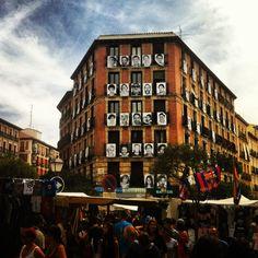 El Rastro. Madrid. Spain