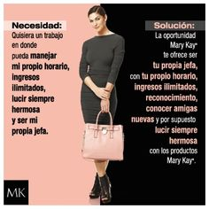 ¡Nos encanta Mary Kay! Www.marykay.es/paolaglez