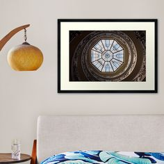 """""""The famous spiral staircase in Vatican Museum - Rome, Italy"""" Framed Art Print by PaoloModena 