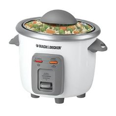 Try This! Black  Decker, 3-Cup Rice Cooker