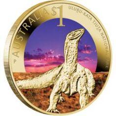 Celebrate Australia – World Heritage Sites – Uluru-Kata Tjuta National Park 2012 $1 Coin