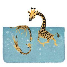 Illustration, Kids Rugs, Animals, Etsy Shop, Unique, Decor, Design, Joie De Vivre, Swim