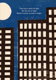 Look at the Moon, by May Garelick, illustration by Leonard Weisgard