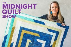 """If there is one thing I know about quilters, it's that we love fabric! We love touching it, folding it, and even collecting it. In this week's episode of the Midnight Quilt Show, I do a little """"stash- Quilting Room, Quilting Tips, Quilting Tutorials, Quilting Projects, Quilting Designs, Machine Quilting, Msqc Tutorials, Beginner Quilting, Quilt Design"""