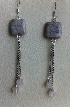 Hand made earrings by PollyAnnaJewellery, $20.00