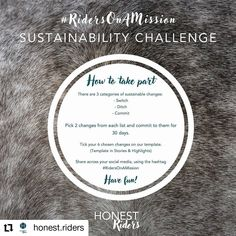 The sustainability challenge is being hosted by honest riders for the second year in a row Story Highlights, Equestrian Style, Falling Down, Lessons Learned, Ballerina, Sustainability, How To Find Out, Challenges, Social Media