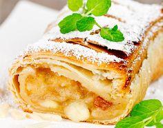 18 receptů na štrúdly z jablek, hrušek, švestek, máku...