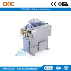 For details of 5E-DCA250×150 Double Roller Crusher, please check: http://www.ckic.net/products/sample-preparation-equipment/5e-dca250-150-double-roller-crusher.html
