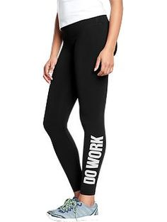Women's Old Navy Active Compression Leggings | Old Navy | $24 | Any Workout Legging
