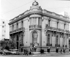 Beautiful building at Patission Avenue, Athens in the Greece Pictures, Old Pictures, Old Photos, Vintage Photos, Bauhaus, Old Greek, Greek History, Athens Greece, Beautiful Buildings