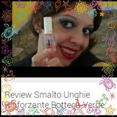 Review Smalto Unghie Rinforzante Bottega Verde: https://youtu.be/WNF41w5xGJg