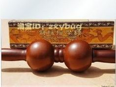 5pcs Double wooden back massage rod / double massage ball / massage ball