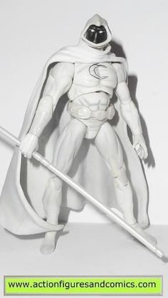 marvel universe MOON KNIGHT series 1 027 2009 hasbro toys action figures #nobo