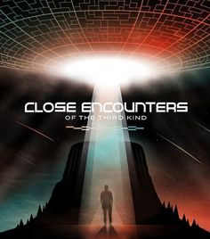Close Encounters of the Third Kind [SteelBook] Ultra HD Blu-ray/Blu-ray] [Only @ Best Buy] 1977 Alien Aesthetic, Poster Drawing, Close Encounters, Steven Spielberg, Sci Fi Movies, The Shining, Space Travel, No Time For Me, Retro