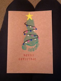 Creative christmas card making