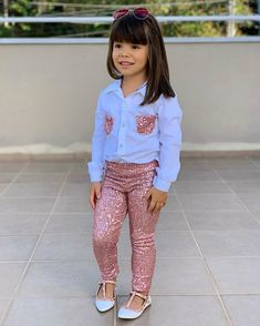 Little Girl Outfits, Kids Outfits Girls, Cute Girl Outfits, Little Girl Dresses, Baby Girl Fashion, Toddler Fashion, Kids Fashion, Fall Baby Clothes, Cute Baby Girl Pictures