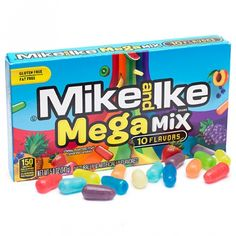 Just found Mike and Ike Mega Mix Candy Theater Size Packs: Case Thanks for the Candy Room, Cream Candy, Ice Cream, Mike And Ike, Online Candy Store, Junk Food Snacks, Candy Brands, Sour Candy, Bulk Candy