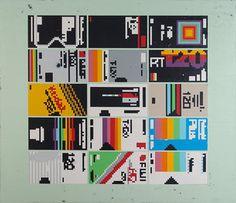Hollis Brown | VHS, original acrylic on canvas, 2011