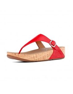 5f208fc2a645 The Skinny Leather Ff Red Women Fitflop Sandals
