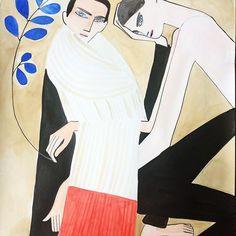 JW ANDERSON AW15 #jwanderson #aw15 #menswear #fashionillustration #watercolor @jw_anderson @jonathan.anderson