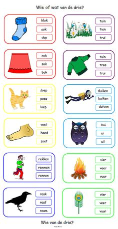 2nd Grade Reading Worksheets, Preschool Worksheets, Kindergarten Lessons, School Lessons, Learn Dutch, Phonics Song, Dutch Language, Teachers Aide, School Posters