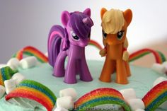 How to Make a Cute and Easy My Little Pony Cake