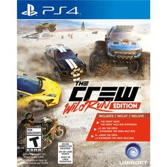 [Extra] The Crew: Wild Run Edition (PS4) - R$89,00