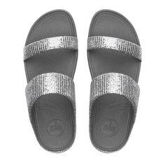 Lulu™ SuperGlitz Textile Slide Sandals