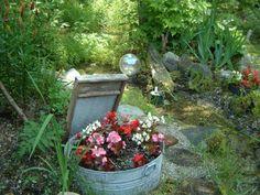 Gartendekorationen Ideen, die für eine heitere Stimmung im Garten sorgen