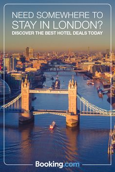 Discover the best London has to offer and book a trip today with Booking.com. Boasting world-class museums, shopping in ramshackle markets, cutting-edge boutiques and luxury department stores, and an endless range of international cuisine to enjoy, London truly has it all. Find yourself a great deal today.