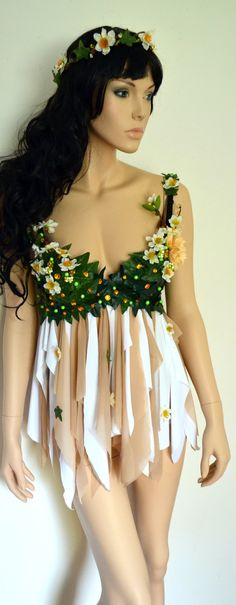 Woodland Fairy Forest Fairy Fairy Costume Fairy by LamourLeAllure