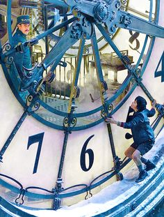 """""""Everything has a purpose, clocks tell you the time, trains takes you to places"""" Hugo. What's your purpose?"""