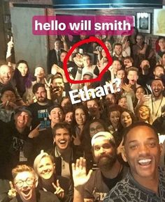 thad ethan for sure u can see grays hair next to him