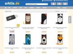 Relaunch - Der neue arktis.de Webshop im Flat Design
