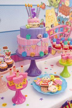 Cake + Sweets from a Shopkins Birthday Party via Kara's Party Ideas | KarasPartyIdeas.com (16)