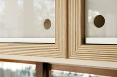 plywood joinery details for interior boxes of cabinets.