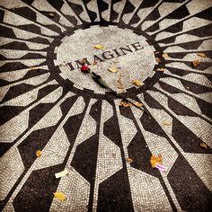 John Lennon Memorial, Imagine Central Park NYC