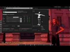 Import a Rigged Mesh - YouTube