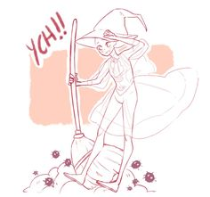 1 SLOT LEFT [YCH] Cleaning Witch (OPEN) by Graviilean