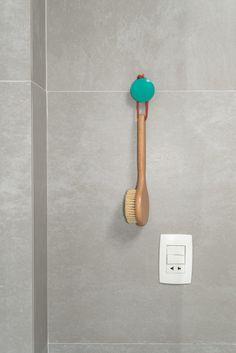 scandinavian inspired, pill, turquoise, grey, ikea, concrete, bathroom, decoration