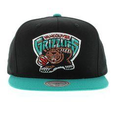 Vancouver Grizzlies 2 Tone Snapback. New Era CapSnapbackVancouverStreetwearStreet  ... a36d540d3bd6